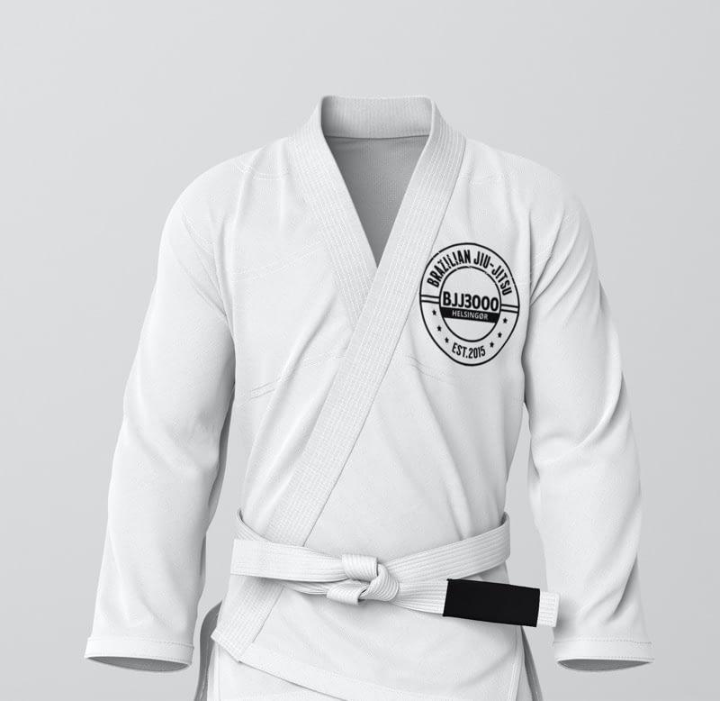 Det hvide bælte hos Helsingør Jiu Jitsu