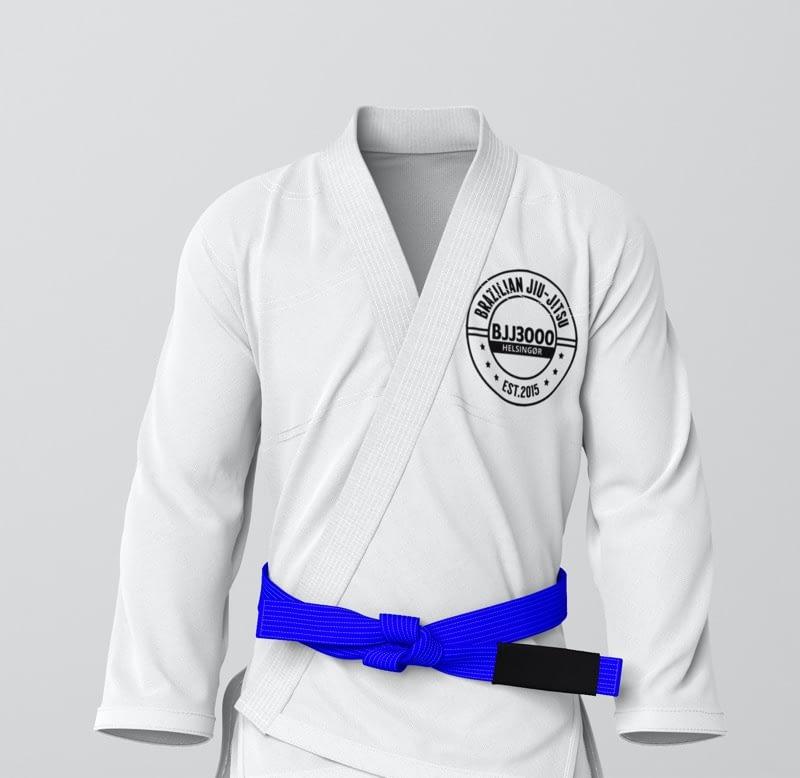 Det blå bælte hos Helsingør Jiu Jitsu